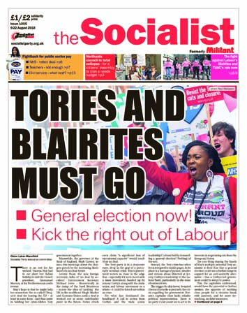 The Socialist issue 1005