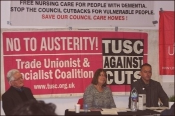 A TUSC meeting in Southampton