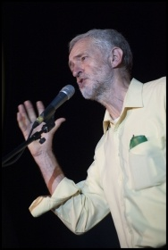 Jeremy Corbyn, photo by Paul Mattsson