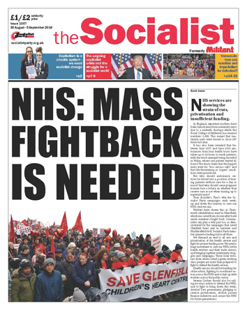 The Socialist issue 1007