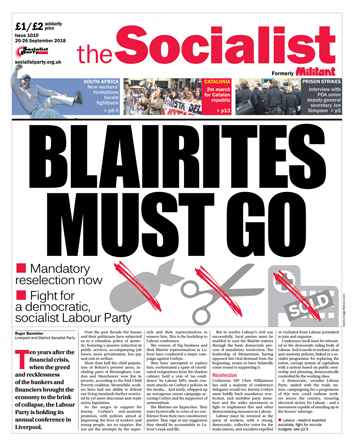 The Socialist issue 1010