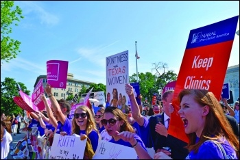 Kavanaugh's hostility to abortion rights is well documented, photo jordanuhl7/CC