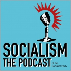 The weekly Socialism podcast is rolling out across all major platforms, photo Sarah Wrack