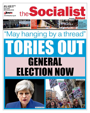 The Socialist issue 1015
