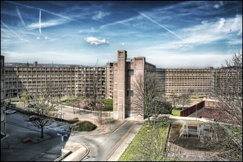 The half-abandoned Park Hill council estate in Sheffield, photo by Paolo Margari/CC