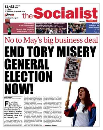 The Socialist issue 1020