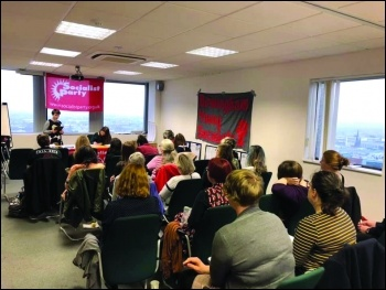 West Midlands women's meeting December 2018, photo Corinthia Ward