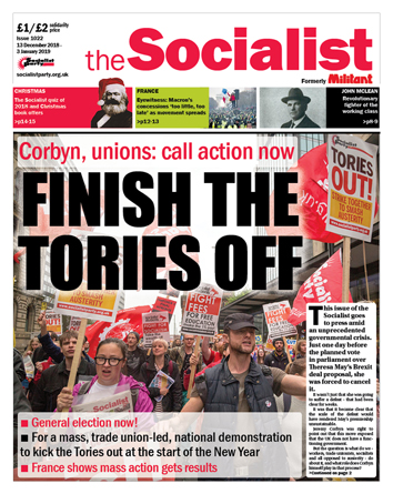 The Socialist issue 1022