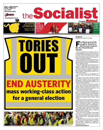 The Socialist issue 1024