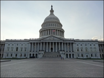 US Capitol Building during the government shutdown, photo emw/CC