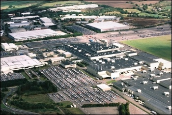 Honda's Swindon plant, photo by krzyszkk/CC