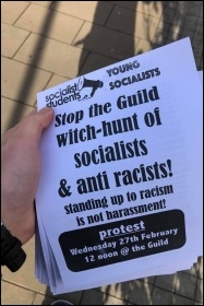 Stop the witch-hunt of Brum Socialist Students, photo by Birmingham Socialist Students