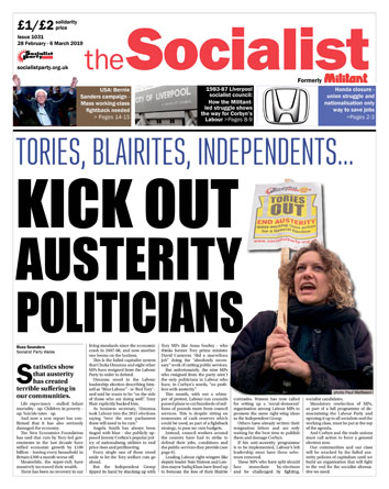 The Socialist issue 1031