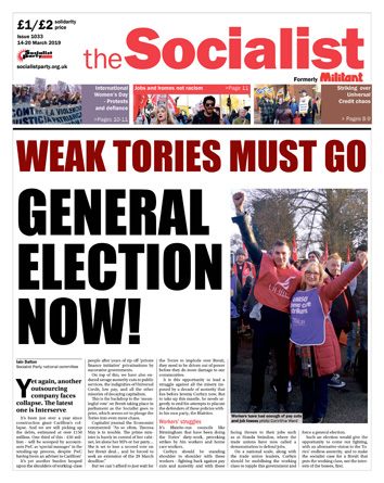The Socialist issue 1033