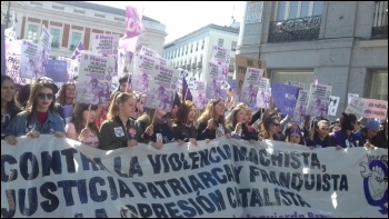 Spanish State, IWD 8.3.19, photo by LyC