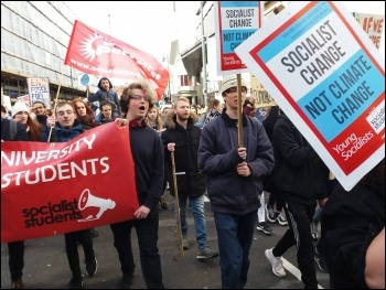 March 15 climate protest in Leeds