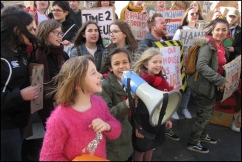 15 March climate protest in Newcastle