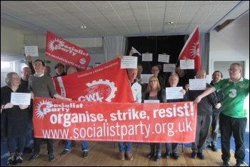 Socialist Party Northern regional conference March 2019, photo SoCIALIST