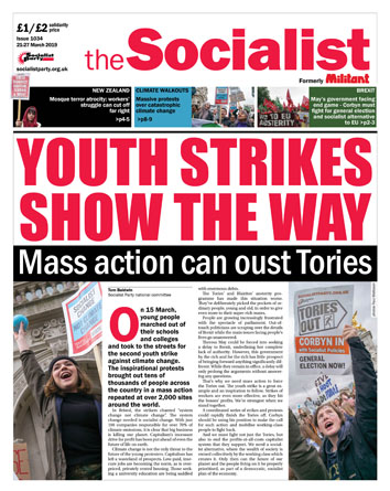 The Socialist issue 1034