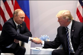 Vladimir Putin and Donald Trump, photo by kremlin.ru/CC