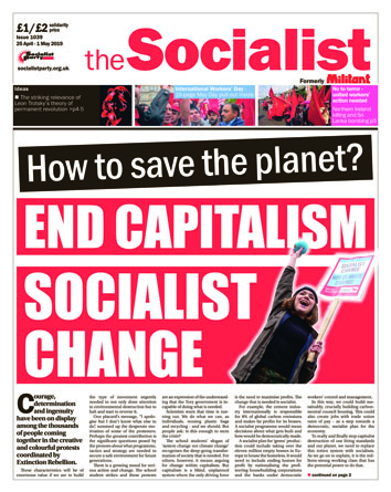 The Socialist issue 1039