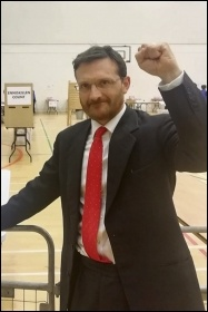 Socialist Party (Ireland) member Donal O'Cofaigh has won a seat on Fermanagh and Omagh Council