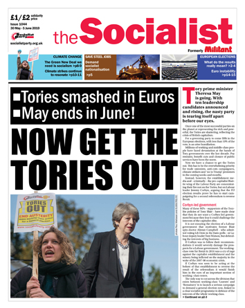 The Socialist issue 1044
