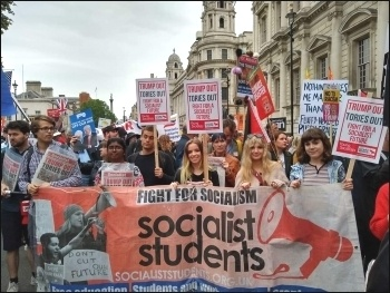 Socialist Students, photo Naomi Byron