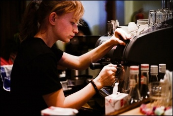 Low pay is endemic,especially among young workers, photo Petteri Sulonen/CC
