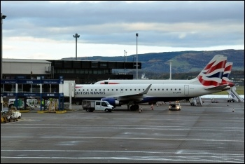 Glasgow airport, photo by MP4-23/CC