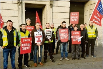 The left in Ireland must redouble its efforts to connect with trade union and workplace struggles, and working-class communities, photo by Paul Murphy