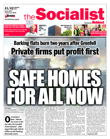 The Socialist issue 1046