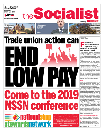 The Socialist issue 1047: End low pay