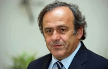 Michel Platini, hero of football turned big business hack, photo Nazionale Calcio/CC