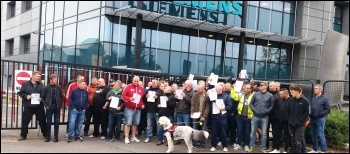 Sienmens Lincoln protest 28.6.19