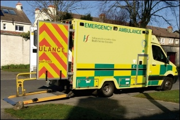 A series of health workers have struck in Ireland, photo by Heggyhomolit/CC