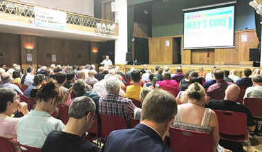 National Shop Stewards Network conference, 6.7.19, Conway Hall in London