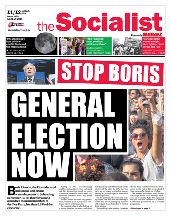The Socialist issue 1050