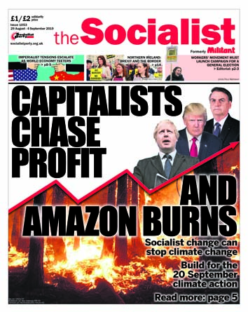 The Socialist issue 1053