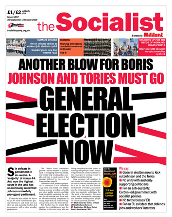 The Socialist issue 1057