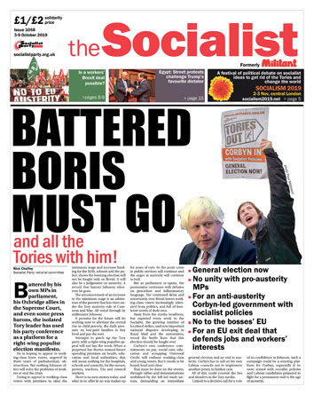 The Socialist issue 1058