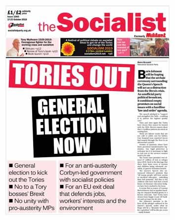 The Socialist issue 1060