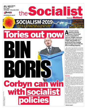 The Socialist issue 1062