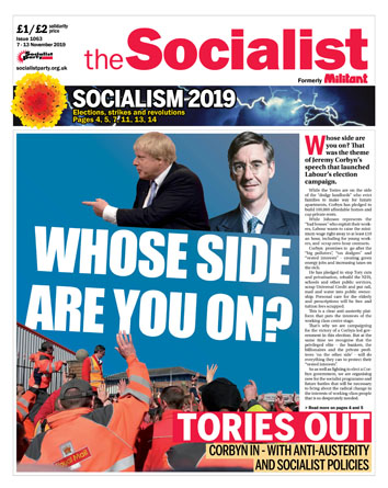 The Socialist issue 1063