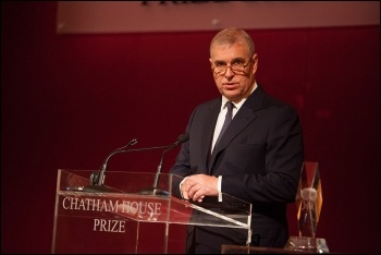 Prince Andrew, photo Chatham House/CC