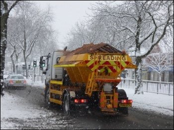 Gritter, photo