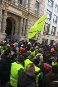 Gilets jaunes Act LXII demonstration, Paris, 18.1.2020, photos James Ivens