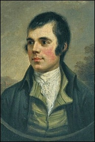 Robert Burns (1759-96), photo (public domain)