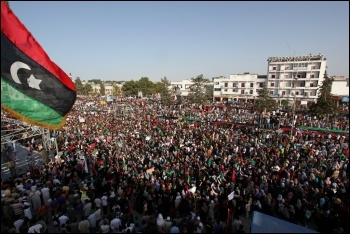 The mass uprising against Gaddafi's regime in 2011, in the absence of an independent, revolutionary workers' movement, was derailed by the West, photo wikipedia/CC
