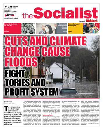 The Socialist issue 1074